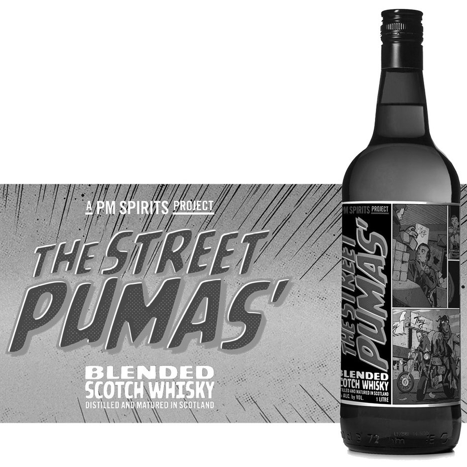 THE STREET PUMAS' BLENDED SCOTCH WHISKY | Scotland