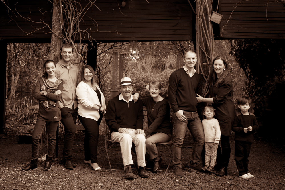 70th Birthday - Extended Family Session - Daylesford