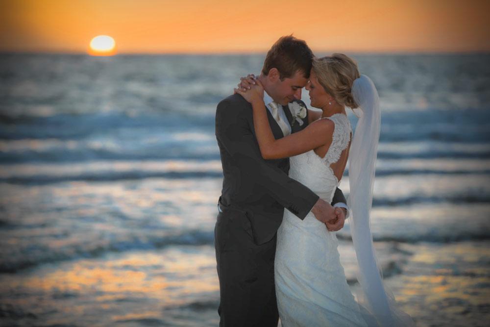 Anna & Nick - City Church Wedding, St Kilda Beach Reception