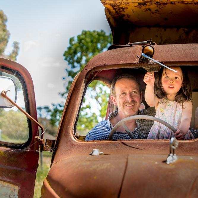 Harcourt Farm Family - Miho & Steve's extended Family