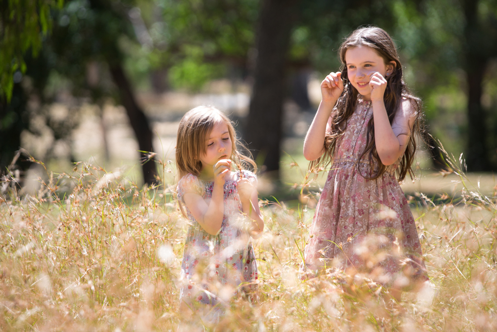 Castlemaine Botanic Gardens - beautiful sisters adventure