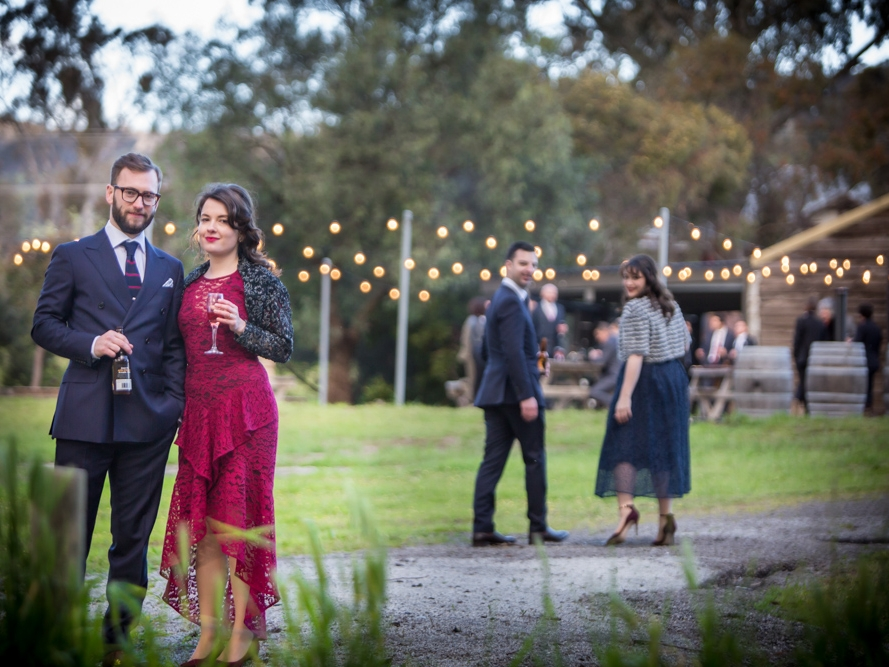 Harcourt Valley Vineyard - Holly & christopher