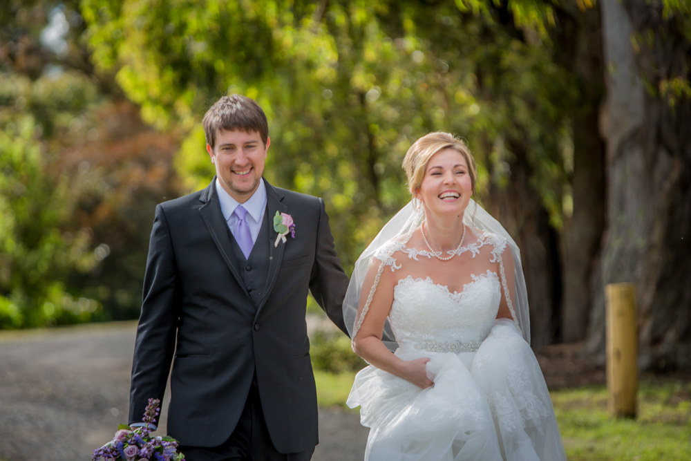Anna & Adam - Lawsons Lodge Macedon