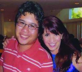 Adela Sering-Fojas with Miguel Fojas