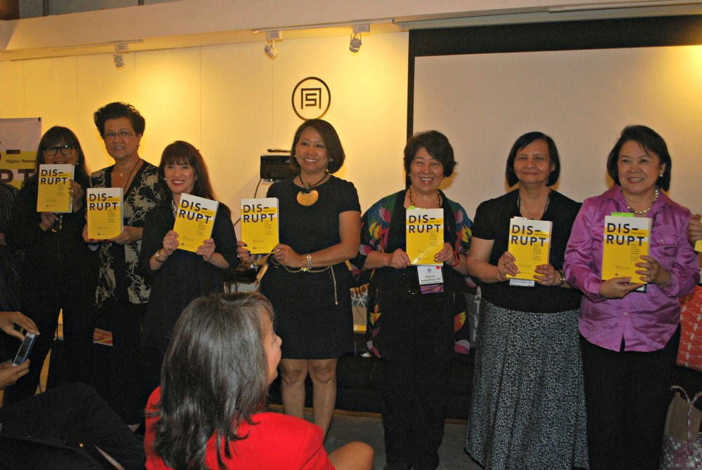 From left: Marily Mondejar, FWN CEO & Founder; Gloria T. Caoile, Political Consultant Extraordinaire; Delle Sering-Fojas, CEO, 77 Corporate Group; Sonia T. Delen-Fitzsimmons, Senior Vice President, Bank of America Merrill Lynch and FWN board member; Ruth Asmundson Uy, Ambassador, City of Davis Sister Cities, Special Assistant to University of California Davis Vice Provost on University Outreach and International Programs and Former Mayor of City of Davis, California; Brazil's Delia B. Rodriguez-Amaya, President of the International Academy of Food Science and Technology and Senior Visiting Professor, Universidade Federal da Fronteira Sul; Canada's Lenore RS Lim, President and Founder, Lenore RS Lim Foundation for the Arts (Photo by Jonathan Largadas)