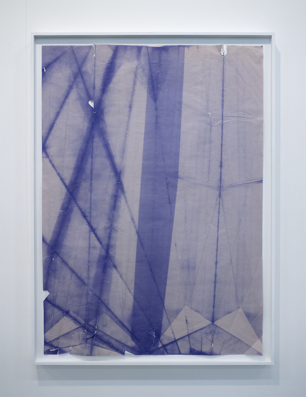 DADIAZO 2 folded, smashed, and exposed diazo blueprint 2013