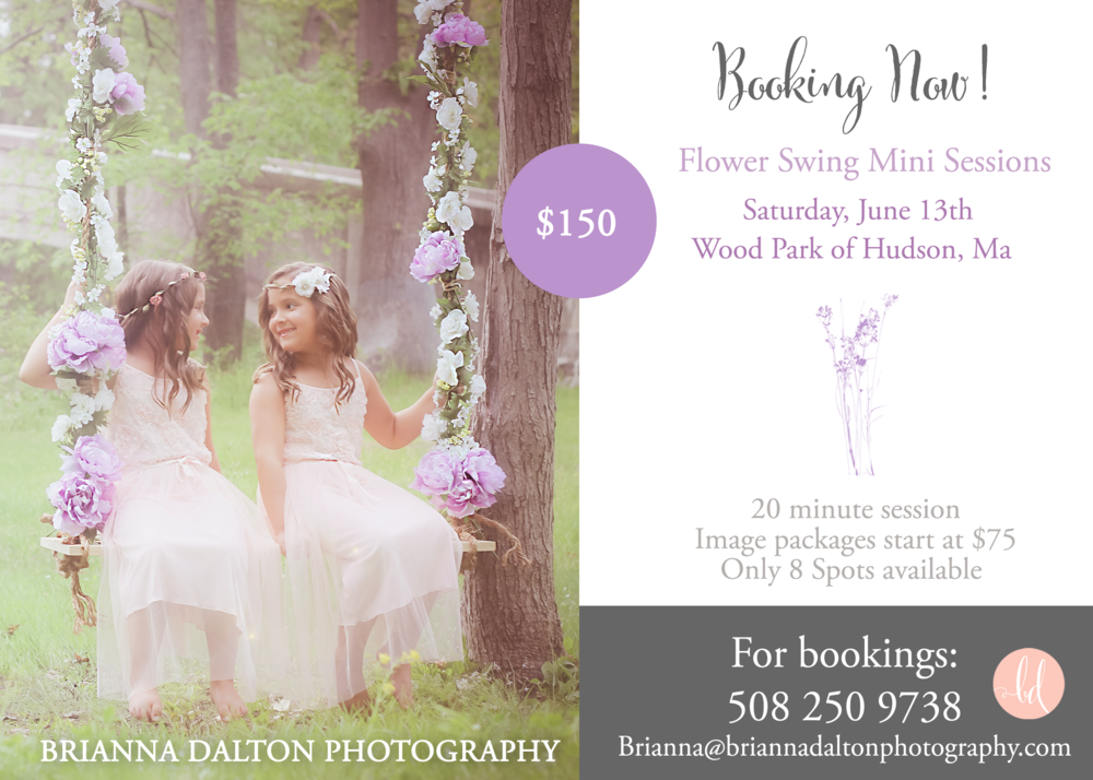 One Day Only! Summer Mini Session