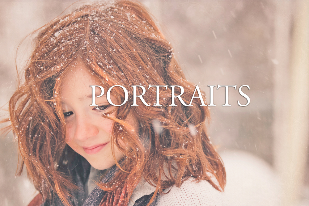 snow portraits