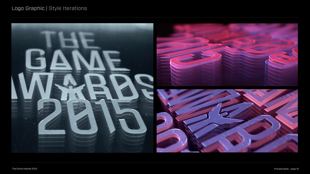 The Game Awards Process Book