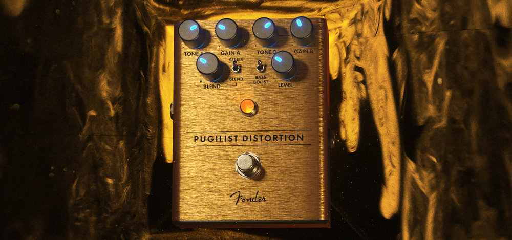 Fender Pugilist Distortion Peter Clark