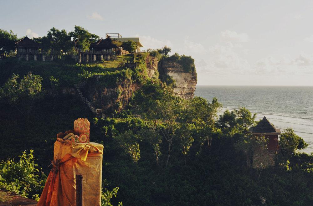 Uluwatu Temple, Bali, Indonesia, digital