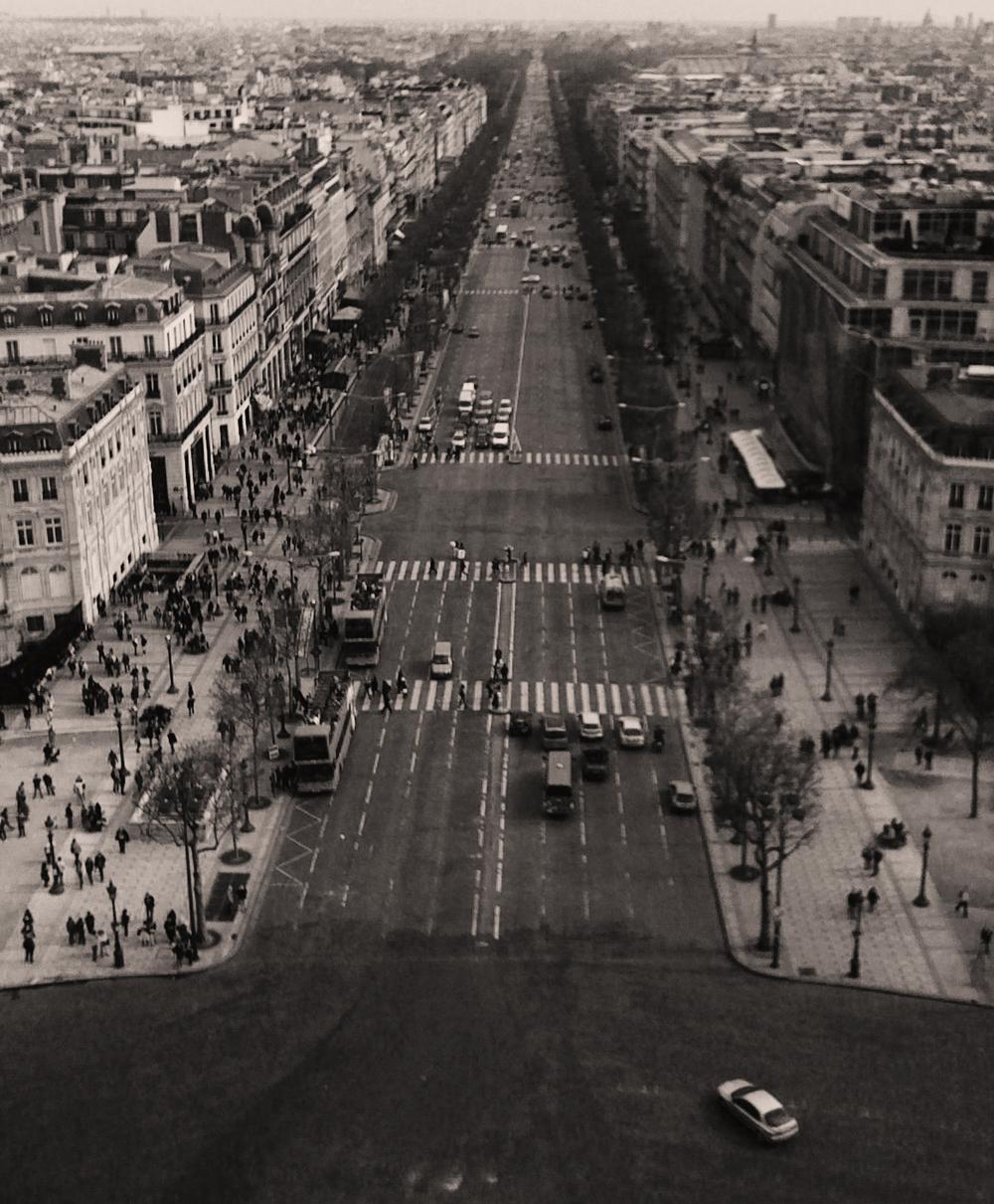 Champs - Élysées, Paris, France, film