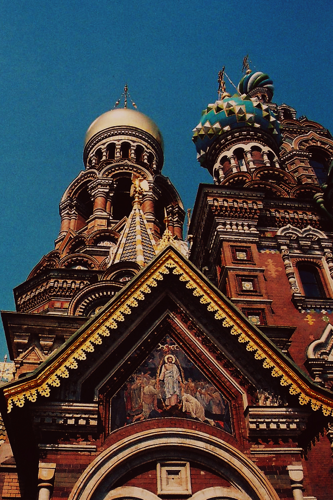 Church on Spilled Blood,St. Petersburg, Russia, film
