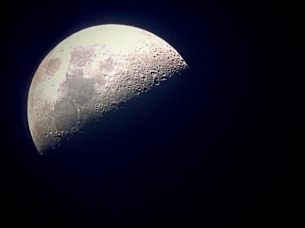 The Moon, Milky Way Galaxy, The Universe, digital