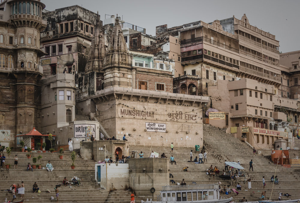 Varanasi is made up of beautiful buildings both modern and traditional.