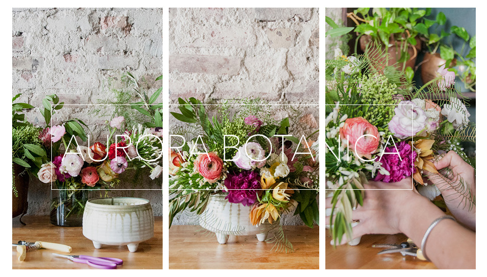 "Local Creative feature, ""Maker's make: flower arranging with Aurora Botanica"", April 2015"