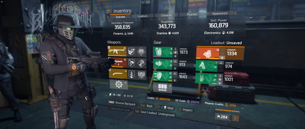 Solo, or in a group, this build will optimize, synergize, and counter the 5 directives in the Underground. This build is optimized for Challenging gameplay due to the Damage to Elites bonuses.