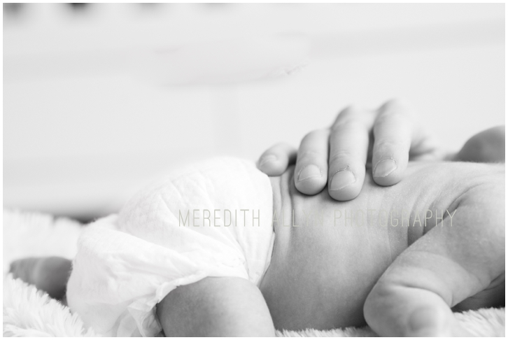 Michigan newborn photos