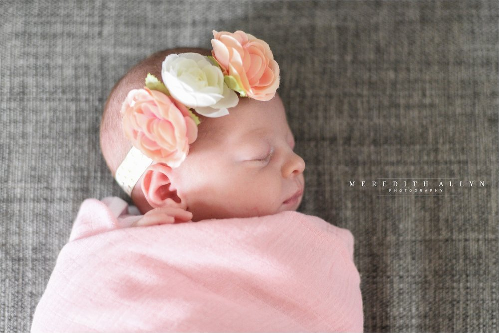meredith allyn photography ann arbor newborn