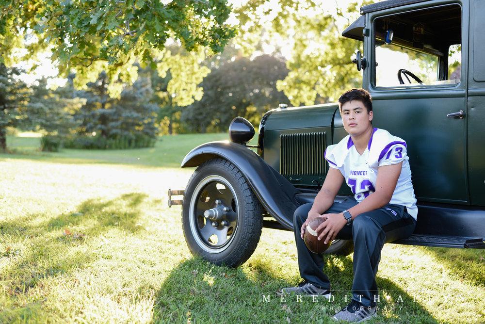Ann Arbor Photographer Senior Portrait