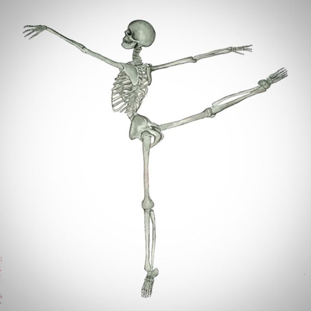 Why didn't the skeleton dance at the party? They had no BODY to dance with! Happy Hallowe'en from #qbc! #quickballchange #dance #dancer