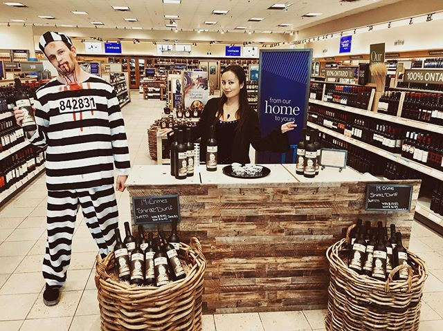 Everyday we're hustlin 🎼QBC promo happening at an LCBO near you. Go get some sp👀ky 🍷