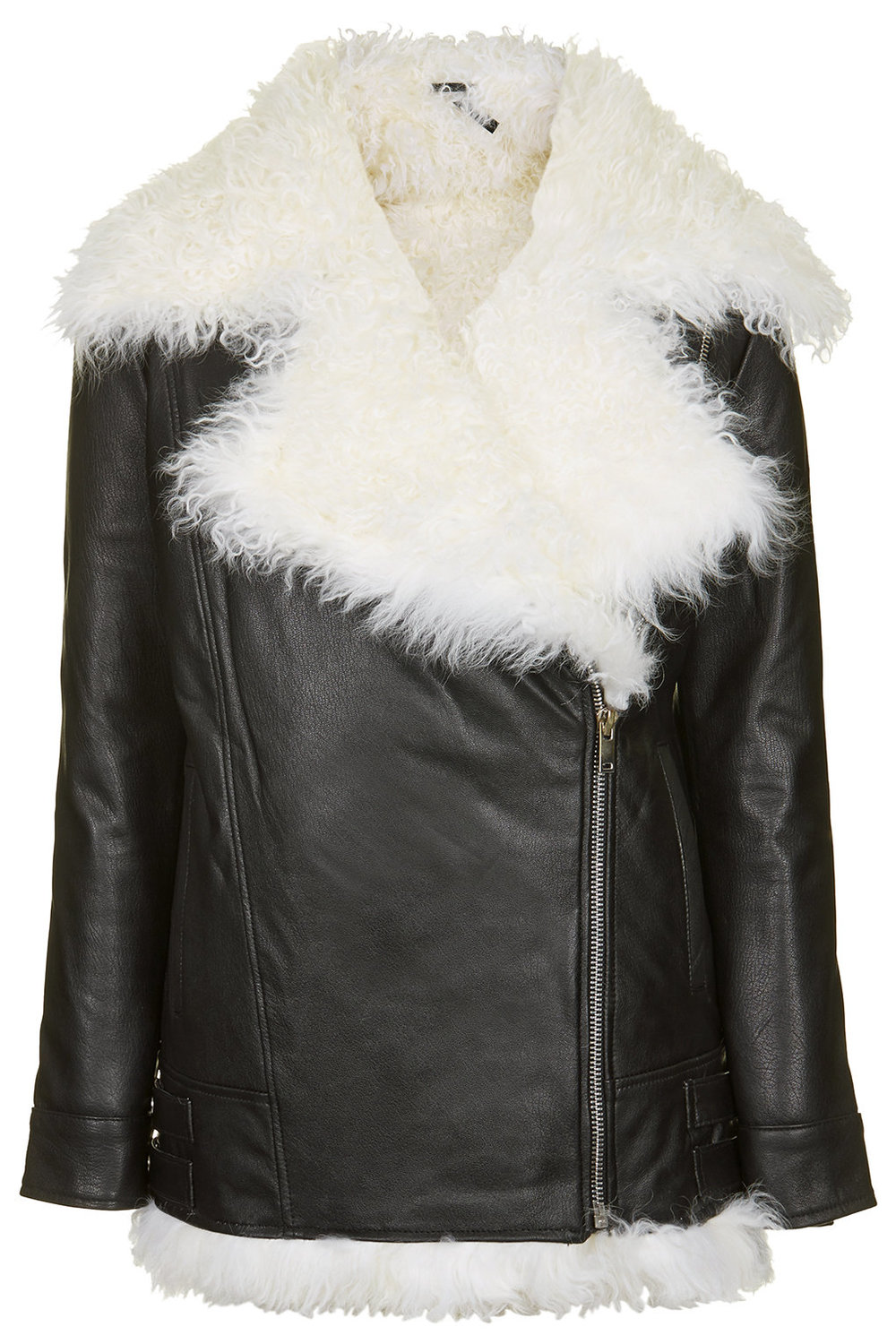 SHEARLING BIKER JACKET BY BOUTIQUE