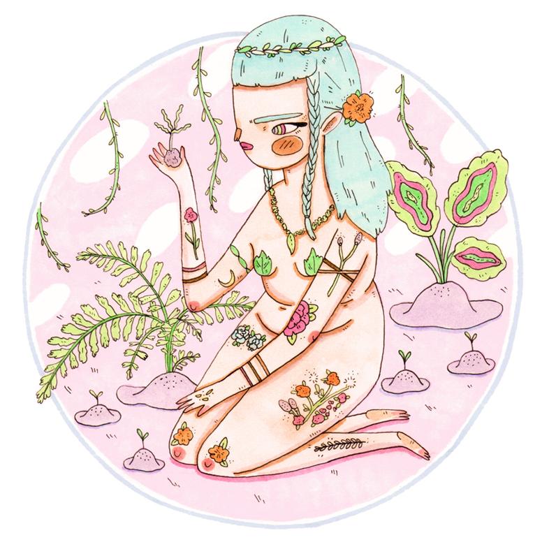 Sweet Spring Seed Siren