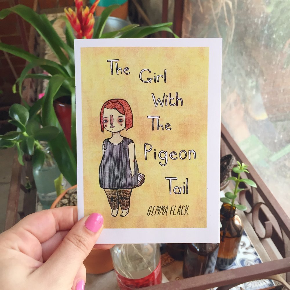 The Girl With The Pigeon Tail