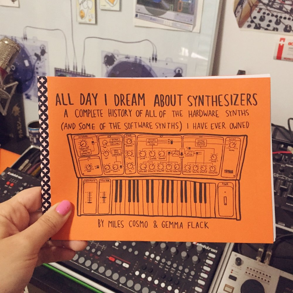 All Day I Dream About Synthesizers #1