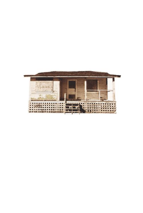 Kintsugi cabin III | Intaglio, gold emboss | 2015