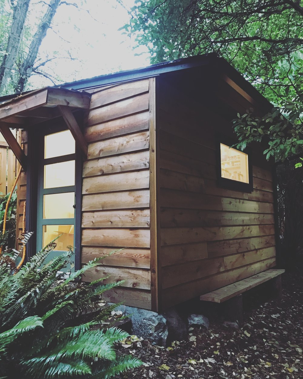 Studio on Bowen Island, BC