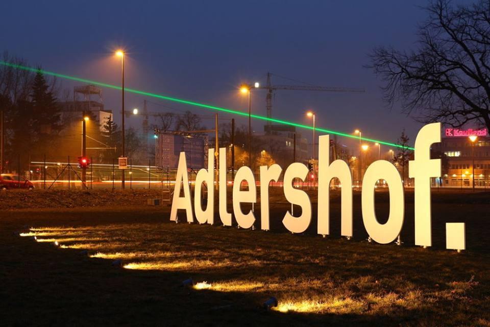 Adlershof bei Nacht