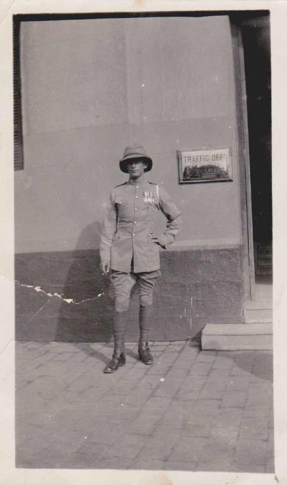 Trooper Cecil Rowland Allen