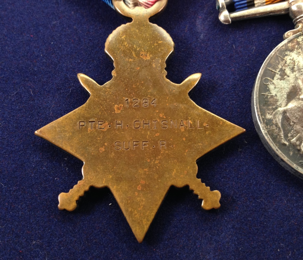 Herbert Chisnall reverse 1914 star.jpg