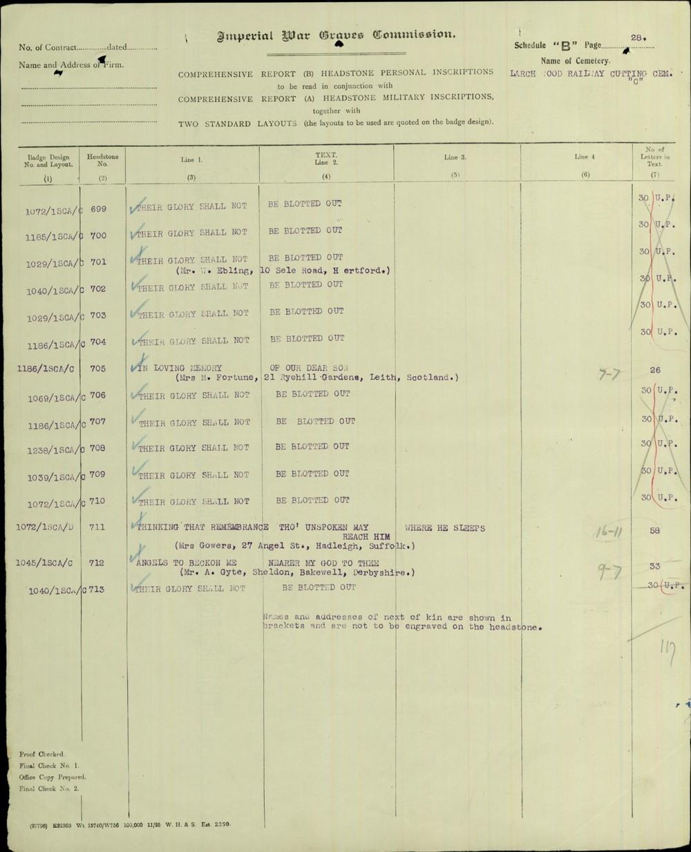 Bertie Gowers headstone schedule 2.JPG
