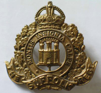 1st Suffolk's Cap Badge
