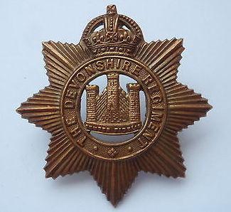 Devonshire Regt cap badge.JPG