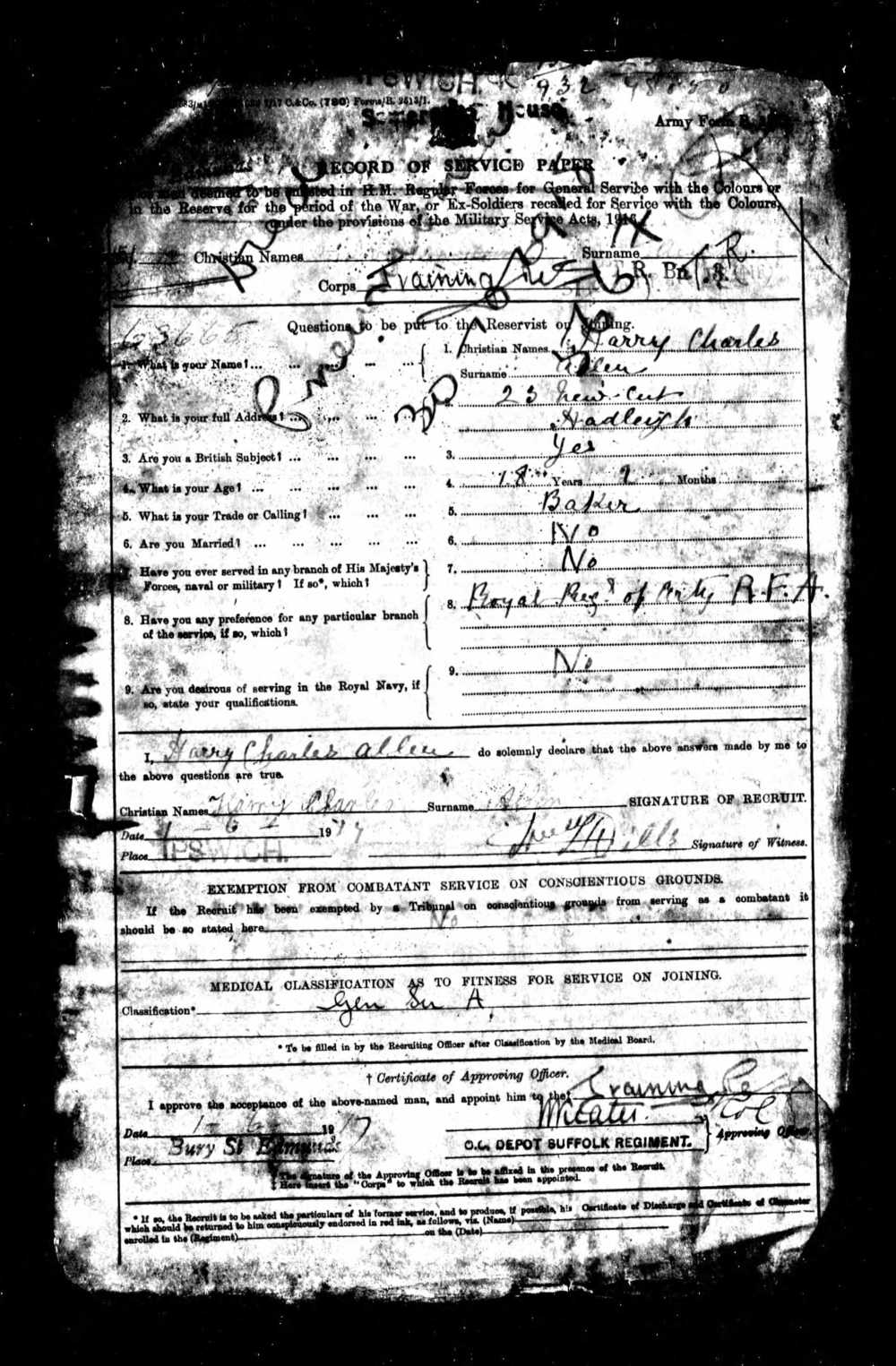 Harry Charles Allen service record 1.jpg