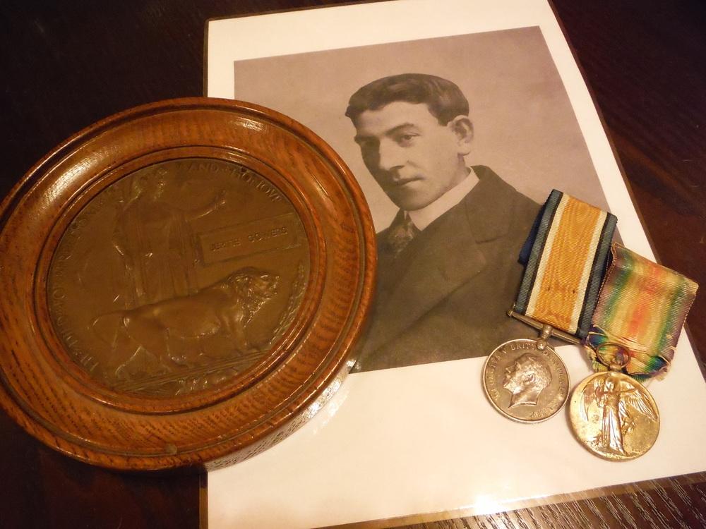 5 BG medals & Plaque.JPG