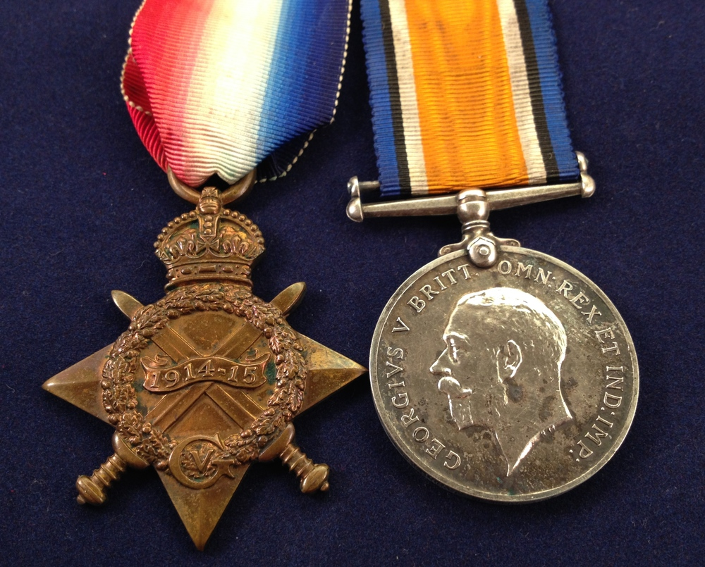 A Local medal collector is in possession of two of Herbert's medals, the 1915 Star and the British War Medal.  It is not clear where the third one, the Victory Medal is.