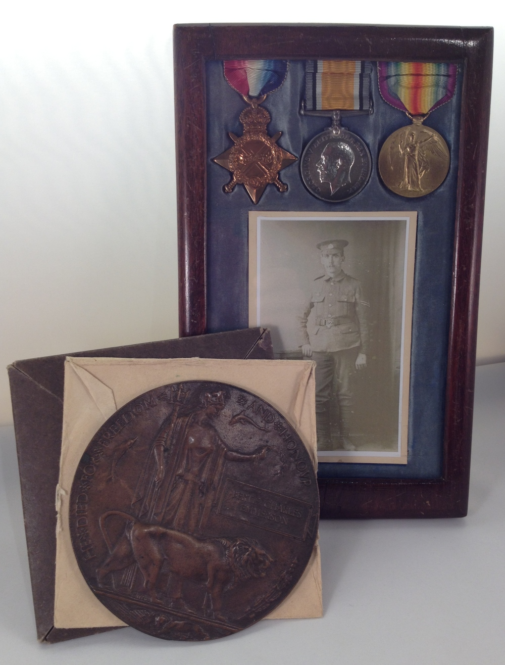 B Emmerson medals & penny 1.jpg