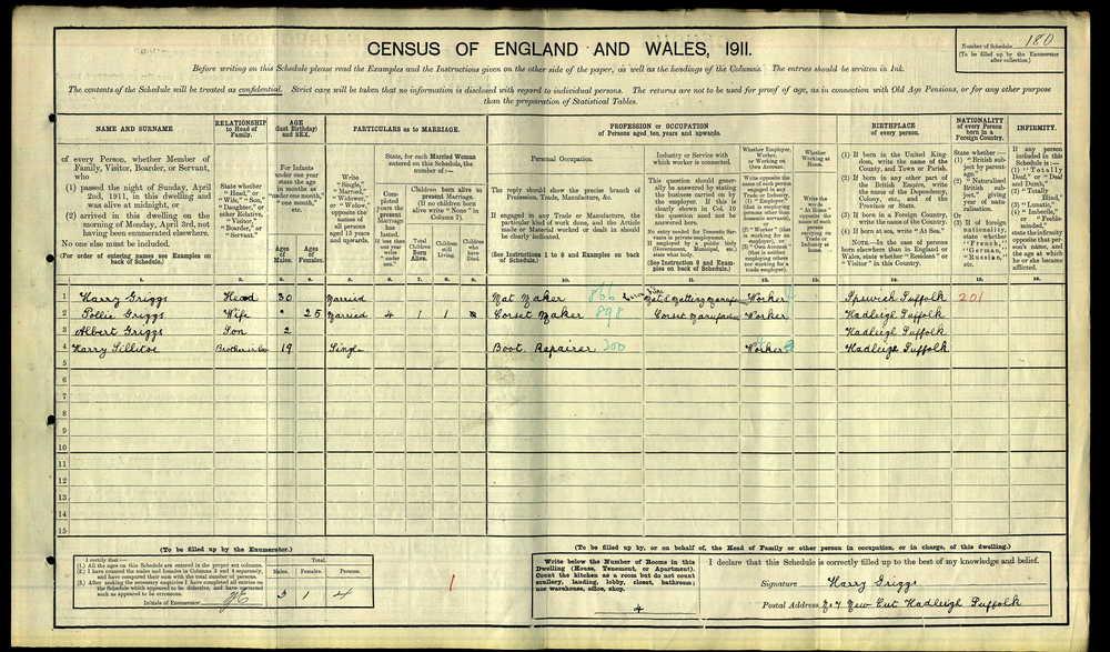 anc H Griggs 1911 census.jpg