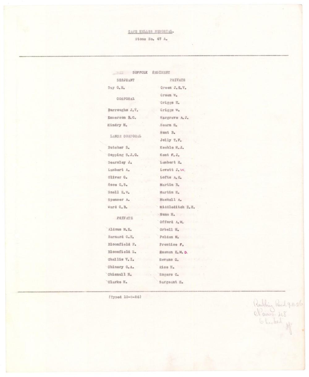 cwgc Harry Griggs panel list.JPG