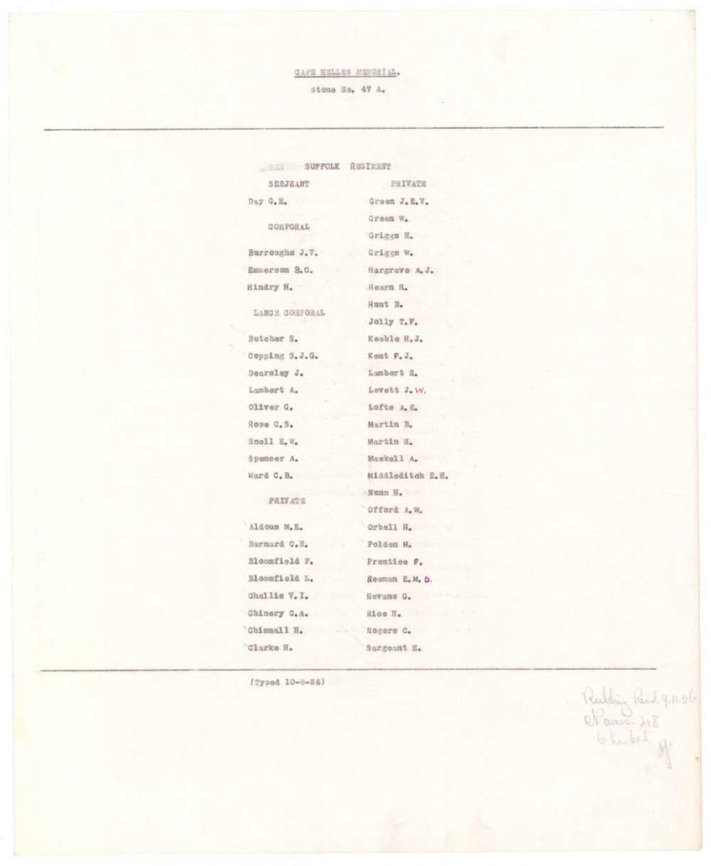 cwgc R Lambert panel list.JPG