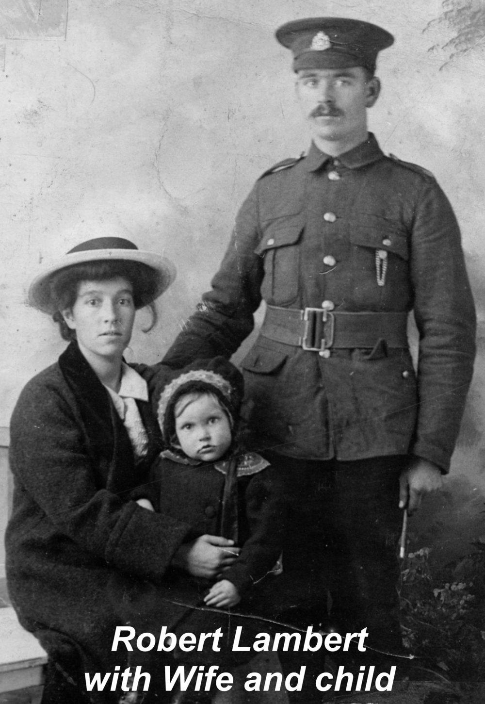 Robert Lambert, wife Lucy Maria Lambert (nee Leeks) with daughter Edith copy 2.jpg