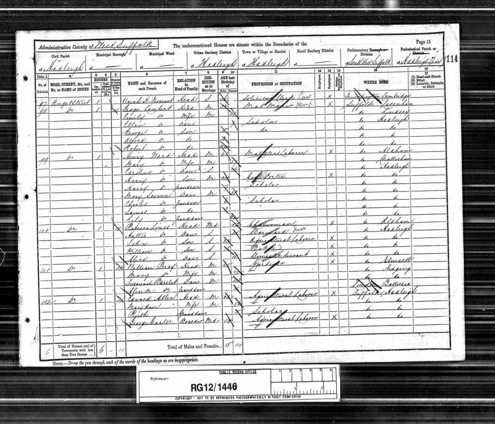 Robert and Alfred Lambert 1891 Census.jpg