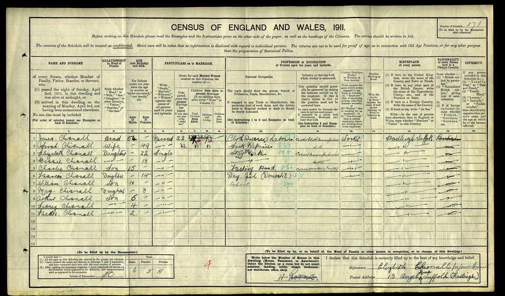1911 Census Chisnall Charlie.jpg