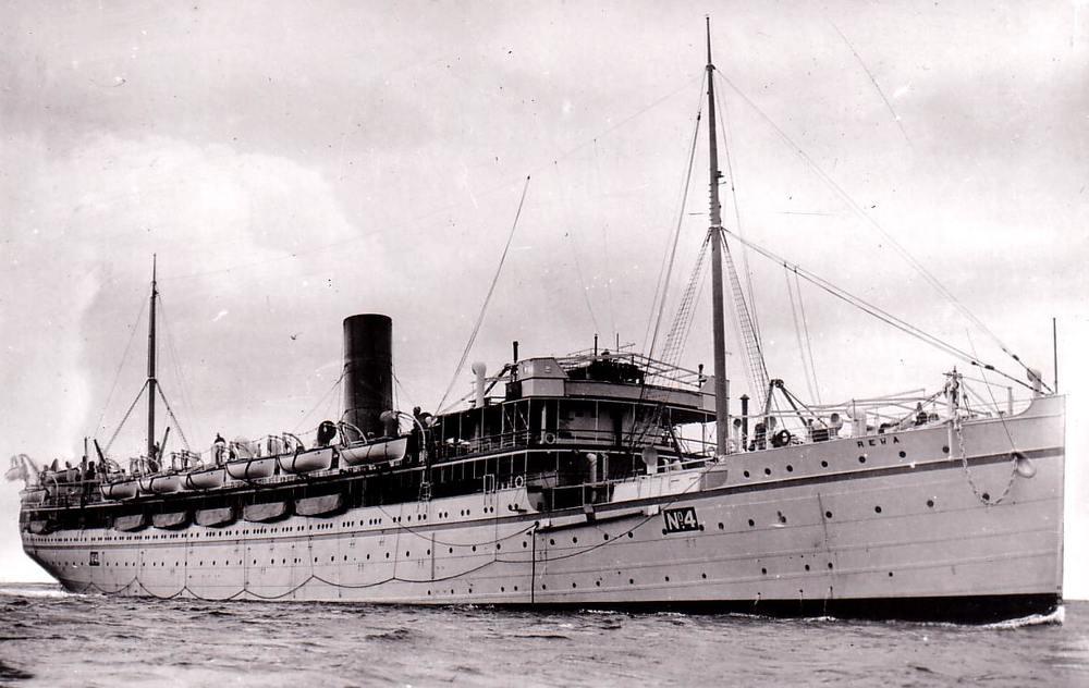 Hospital Ship HMHS REWA
