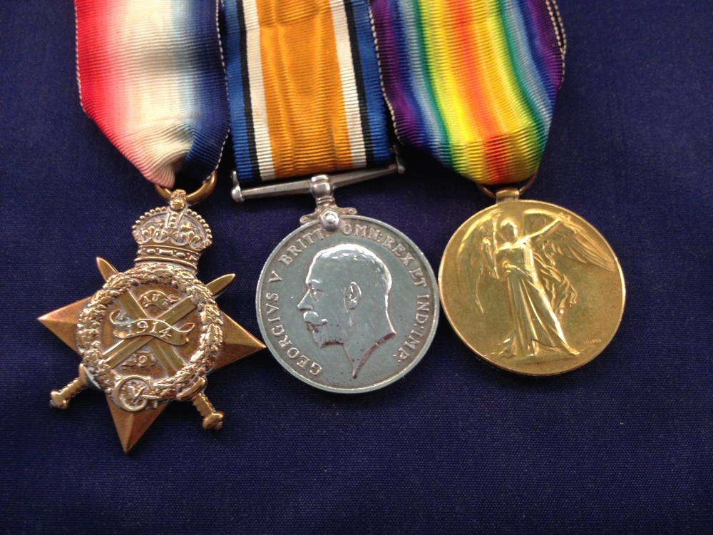 The whereabouts of Charles' medals are currently unknown, but as he arrive in the Asia Minor theatre on 17 November 1915, he was entitled to the above three medals.